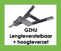GZHU - Triangel/trekdissel/trekdriehoek - Lengteverstelbaar + hoogteverzet