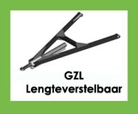 GZL - Triangel/trekdissel/trekdriehoek Lengteverstelbaar