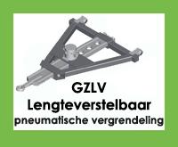 GZLV - Triangel/trekdriekhoek/trekdissel lengteverstelbaar - met pneumatische vergrendeling