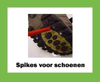Spikes voor schoenen online bestellen in de webshop van Middelbos BV