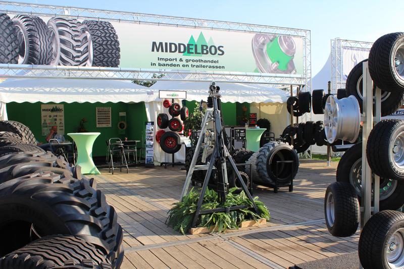 De stand van Middelbos BV op AgroTechniek Holland 2016