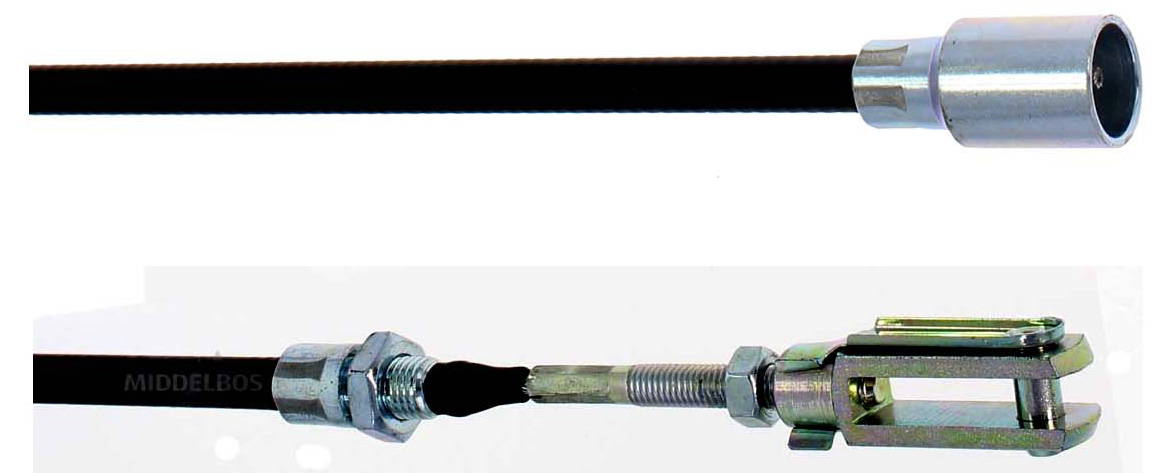 Torsie-as onderdelen
