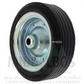 Massief rubber wiel 255x80 Winterhoff