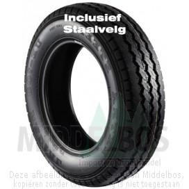 Compleet wiel 195/70R15 Maxxis MCV3+ Vansmart (104S) + staalvelg 67/112/5 ET30