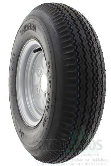 Uitgelezene Compleet wiel 5.00-10 Vredestein V47 (6pr, 80M) High speed trailer GR-63