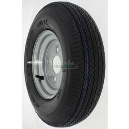 Compleet wiel 4.00-8 Vredestein V47 High Speed Trailer (tbl, 4pr/63M) + velg 60/100/4 ET0