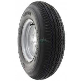 Compleet wiel 5.00-10 Vredestein V47 (6pr, 80M) High speed trailer + velg 60/100/4 ET0