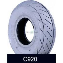Buitenband 3.00-5 Cheng Shin C920 (tt, 4pr) | Non marking - Grijs