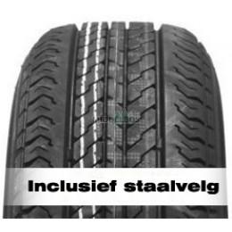 Compleet wiel 185/65R14 CST Trailermaxx CR965 (93N) + staalvelg 67/112/5 ET30