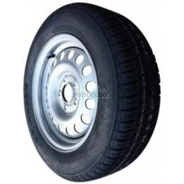 Compleet wiel 175/70R13 Security BK-403 (86N) + staalvelg 67/112/5 ET30