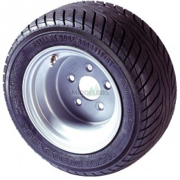 Compleet wiel 255/50B10   20.5/10.00-10 Trelleborg T3000 + velg 67/112/5 ET-4