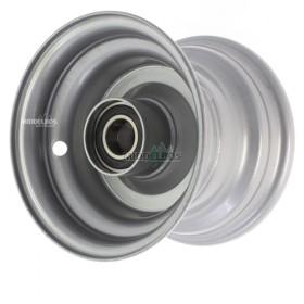Velg 4.50Ax6 Vlukon | Eindwiel met kogellagers - Asgat 25mm