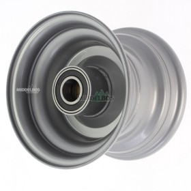 Velg 4.50Ax6 Vlukon No high speed  | Vorkwiel met kogellagers - Asgat 25mm