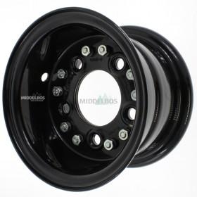 Velg zwart 6.00E-9 Vlukon 94/140/5 ET0 | 4mm dik