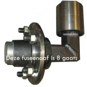 Fuseenaaf TVZ vierkant 80 - 3.0 ton per naaf