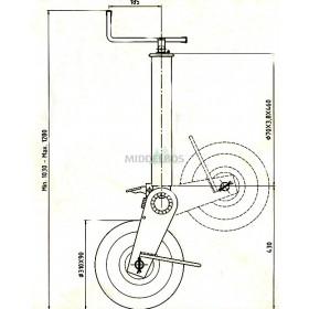 Neuswiel 310x90 Simol | Rond 70