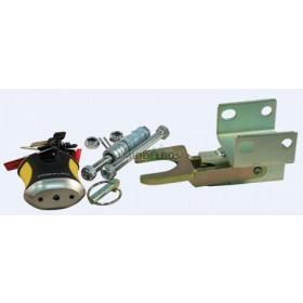 Koppelingsslot Doublelock, 2x M12 horizontaal | SCM/VIP gekeurd
