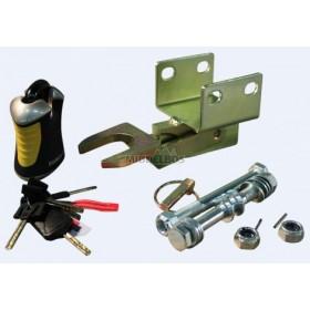 Koppelingsslot Doublelock BAK35, 2x horizontaal boutgaten M14 | SCM/VIP gekeurd
