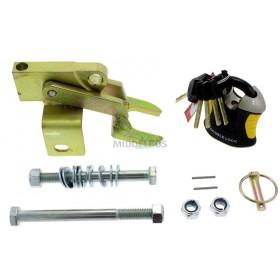 Koppelingsslot Doublelock EM350, hori/vert boutgaten M12 + M14 | SCM/VIP gekeurd