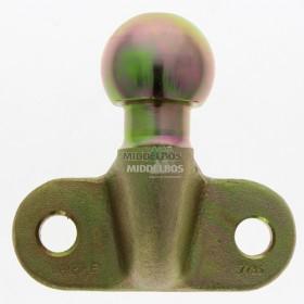 Flenskogel rond 50mm, 2-gaats | Dc= 17 kN