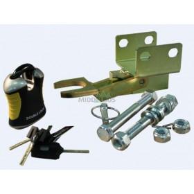 Koppelingsslot Doublelock AK351, 2x horizontaal boutgaten M16 | SCM gekeurd