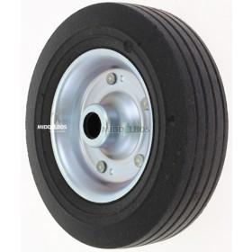 Massief rubber wiel 200x60 | 250 KG