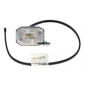 Breedtelamp Flexipoint Aspock 12V | Wit -  Met kabel