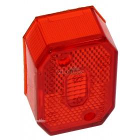 Glas voor markeringslamp Flexipoint I Aspock | Rood