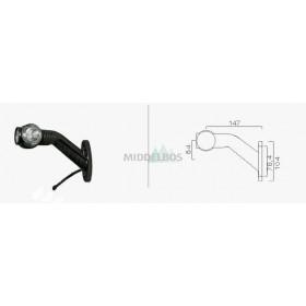 Breedtelamp Superpoint III Aspock | LED - Rechts | Lengte kabel 85cm