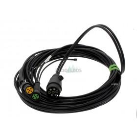 Kabelset voor multipoint Aspock | 7,5 meter - 7 polig