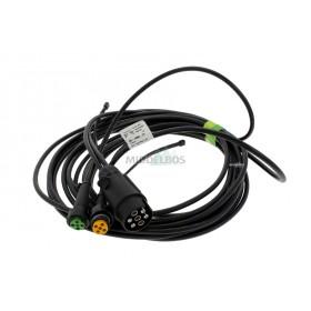 Kabelset voor multipoint Aspock | 5 meter - 7 polig