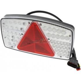 Achterlicht LED combi | Rechts | 270x145mm Maypole