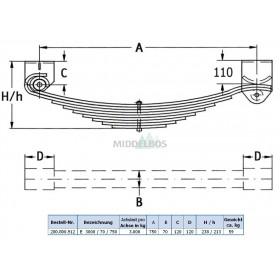 Veeraggregaat enkelas - 3 ton Schneider | 70/750