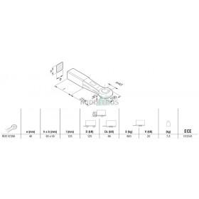 Trekoog Rockinger rond 40 | Snelverkeer 55x65
