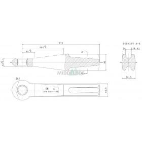 Trekoog Bernhofer 11026 rond 40 | Snelverkeer - 65x80mm