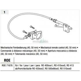 Vangmuil-afstandsbediening Rockinger - Mechanisch   ROE71676