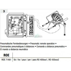 Vangmuil-afstandsbediening Rockinger - Pneumatisch | RO400
