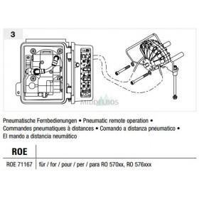 Vangmuil-afstandsbediening Rockinger - Pneumatisch | RO57