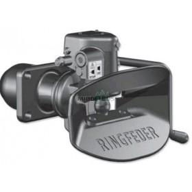 Vangmuilkoppeling RI4040B G150, 160x100 mm Ringfeder | Hendel neerwaarts