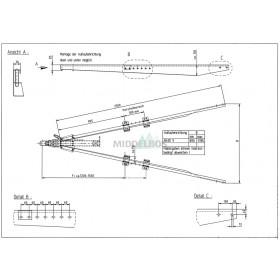 V-dissel Nieper ZG2100 | 2100 KG