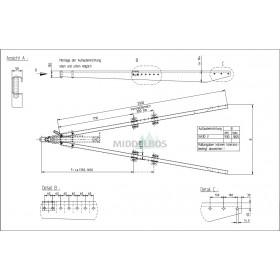 V-dissel Nieper ZG3000 | 3000 KG