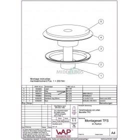 Montageset TFS 8652015 WAP