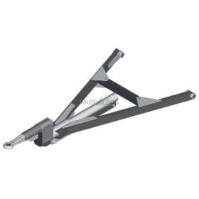 Triangel GZHL30 - Lengteverstelbaar (12x50mm) + trekstang met verzet RGB Regensburger/Jost