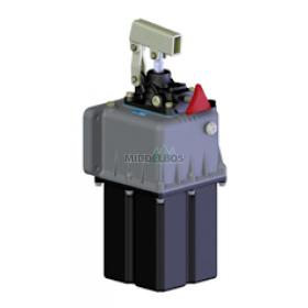 Handpomp hydraulisch 300bar - Enkelwerkend