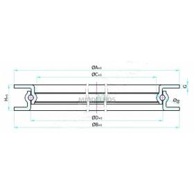 Draaikrans 500mm Langzaamverkeer | 1000 KG