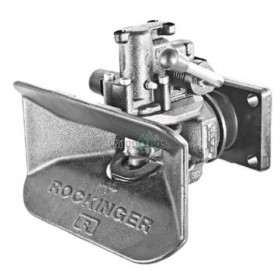 Vangmuilkoppeling RO841, 160x100 mm Rockinger | Hendel neerwaarts