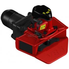 Vangmuilkoppeling VBG | VBG575 V2 - Flens 160x100mm | Hendel opwaarts