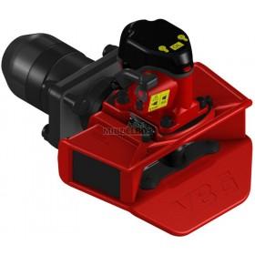 Vangmuilkoppeling VBG | VBG590 VR-2 - Flens 160x100mm | Hendel opwaarts