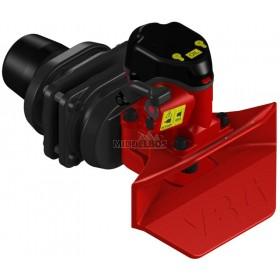 Vangmuilkoppeling VBG | VBG8040 - Flens 160x100mm | Hendel opwaarts