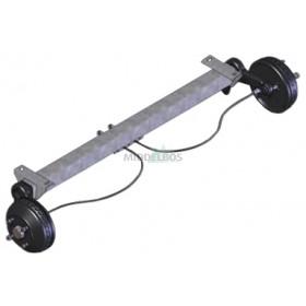 Torsie-as WAP WAG085B (850kg) rem: W 184 RS flens/pad: 1540/1100